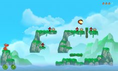 Snappy Dragons — cмесь Angry Birds и Worms для Android