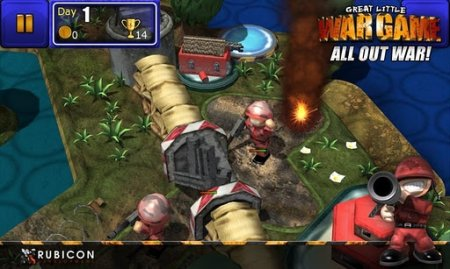 GLWG: All Out War - Стратегия для Android