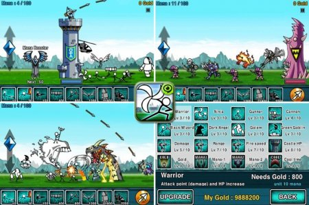 Cartoon Wars - отличная RPG для Android
