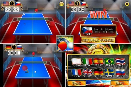 Ping Pong WORLD CHAMP - хороший пин-понг для Android
