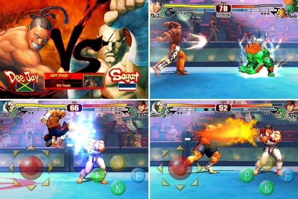 Street Fighter Flash - Online game MoFunZone