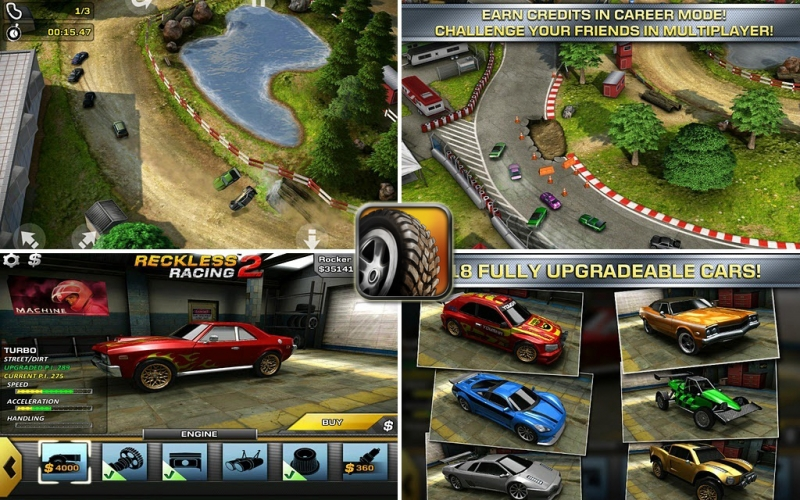 [Android] Reckless Racing 3 v1.0.3 [Гонки, ENG] | …